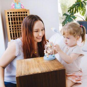Детска дървена играчка - мини костер - Детски играчки - Образователни играчки - Дървени играчки