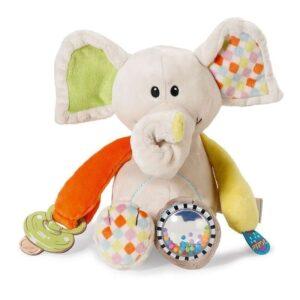 Активна плюшена играчка - Слонче - Детски играчки - Плюшени играчки