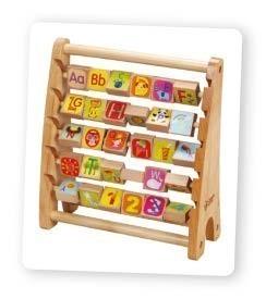 Азбучно сметало - дървена играчка за деца - Детски играчки - Образователни играчки - Дървени играчки