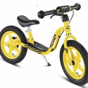 Балансиращо колело със спирачка PUKY LR 1L BR - жълто - Играчки за навън - Балансиращи колела