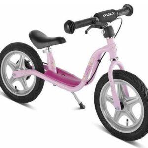 Балансиращо колело със спирачка PUKY LR 1L BR - розово - Играчки за навън - Балансиращи колела