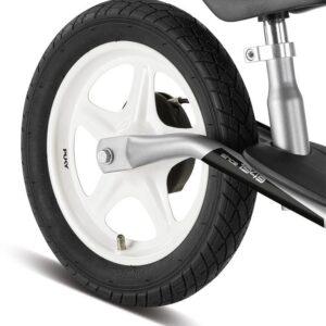 Балансиращо колело със спирачка PUKY LR 1L BR - сребристо и червено - Играчки за навън - Балансиращи колела