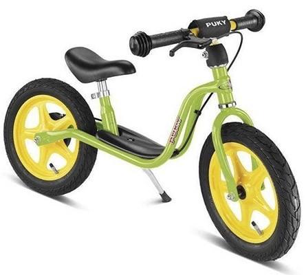 Балансиращо колело със спирачка PUKY LR 1L BR - зелено - Играчки за навън - Балансиращи колела