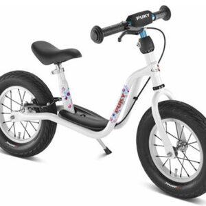 Балансиращо колело със спирачка и степенка PUKY LR XL - бяло - Играчки за навън - Балансиращи колела