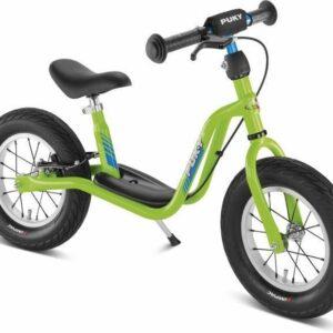 Балансиращо колело със спирачка и степенка PUKY LR XL - киви - Играчки за навън - Балансиращи колела