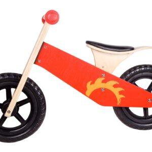 Балансиращо колело - Червено - Играчки за навън - Балансиращи колела - Проходилки - Дървени играчки
