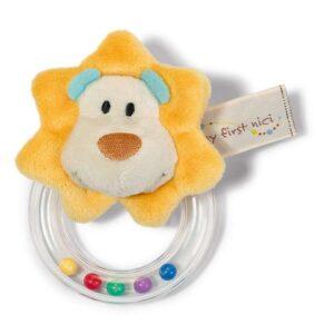 Бебешка дрънкалка Лъвче - Детски играчки - Плюшени играчки