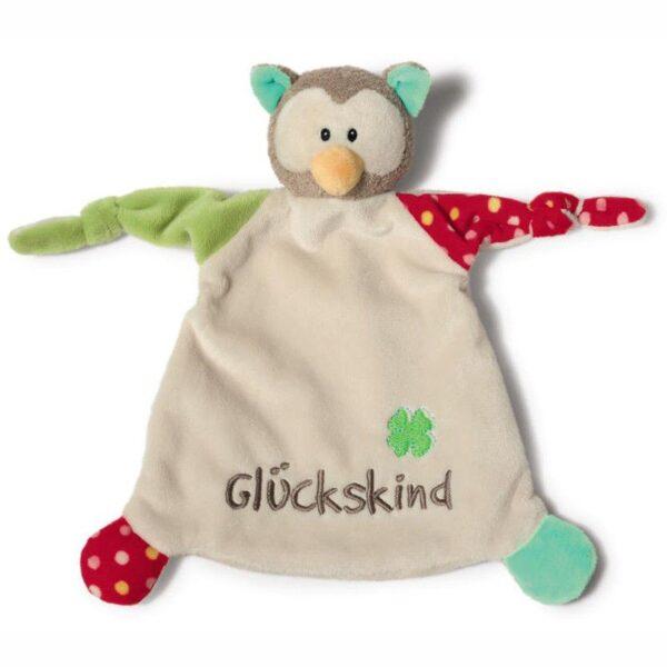 Бебешка играчка - дудунка Бухал - Детски играчки - Плюшени играчки