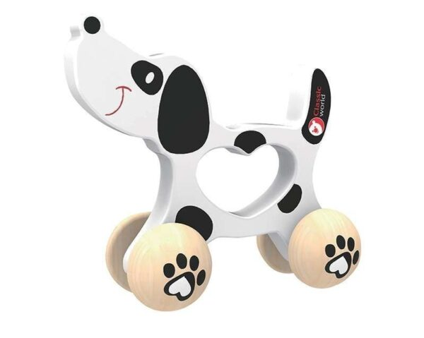 Бебешка играчка - куче - Детски играчки - Бебешки играчки - Дървени играчки