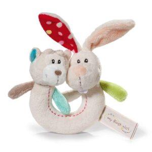 Бебешка играчка Rabbit Tilli & Bear Taps - Детски играчки - Плюшени играчки