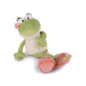 Бебешка плюшена играчка - Жаба - Детски играчки - Плюшени играчки
