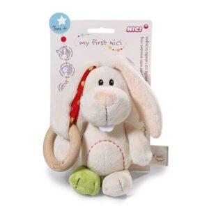 Бебешка плюшена играчка - Заек Tilli - Детски играчки - Плюшени играчки