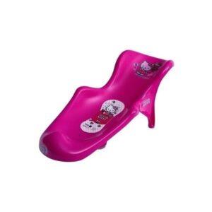 Бебешка седалка за вана с подложка Hello Kitty розова - За бебето - Детски и бебешки аксесоари за баня - Вани и корита за къпане - Hello Kitty