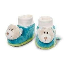 Бебешки пантофки Меченца - За бебето - Аксесоари за детска стая - Дрешки за специални случаи