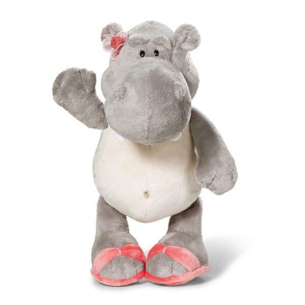 Бебешки плюшена играчка - Хипопотам - Детски играчки - Плюшени играчки