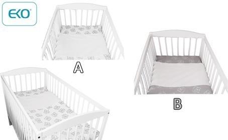 Бебешки спален комплект от 2 части - За бебето - Аксесоари за детска стая - Спални комплекти бельо