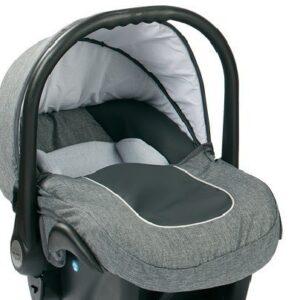 Бебешко кошче за кола 3-9 кг, Baby Merc Leo сиво - Бебешки колички - Кошчета за кола