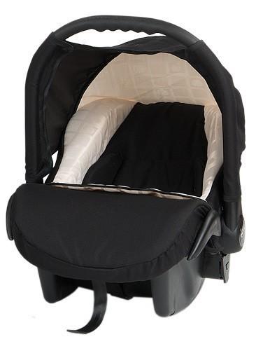 Бебешко кошче за кола Baby Merc Zipy - Черно и бяло - Бебешки колички - Кошчета за кола