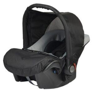 Бебешко кошче за кола Baby Merc Zipy - Черно и сиво - Бебешки колички - Кошчета за кола