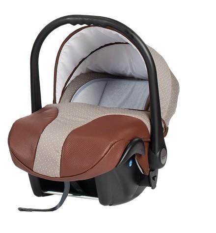 Бебешко кошче за кола, Neo Style, Baby Merc бежово и кафяво - Бебешки колички - Кошчета за кола