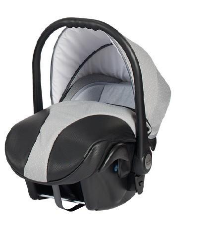 Бебешко кошче за кола, Neo Style, Baby Merc сиво и черно - Бебешки колички - Кошчета за кола