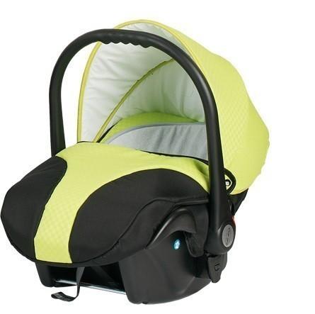 Бебешко кошче за кола, Neo Style, Baby Merc зелено и черно - Бебешки колички - Кошчета за кола