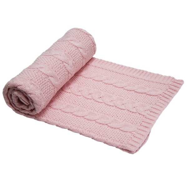 Бебешко одеяло, розово - За бебето - Аксесоари за детска стая - Завивки / Одеяла