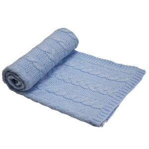 Бебешко одеяло, синьо - За бебето - Аксесоари за детска стая - Завивки / Одеяла