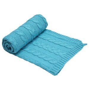 Бебешко одеяло, тюркоаз - За бебето - Аксесоари за детска стая - Завивки / Одеяла