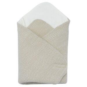 Бебешко плетено одеяло бежово - За бебето - Аксесоари за детска стая - Завивки / Одеяла
