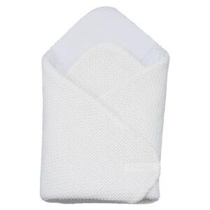 Бебешко плетено одеяло бяло - За бебето - Аксесоари за детска стая - Завивки / Одеяла