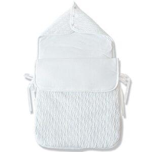 Бебешко спално чувалче бяло - За бебето - Аксесоари за детска стая - Спални чувалчета