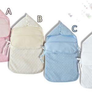 Бебешко спално чувалче светло розово - За бебето - Аксесоари за детска стая - Спални чувалчета