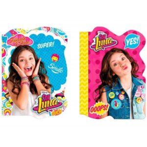 Бележник с корица на Soy Luna - Ученически пособия - Детски дневници - За детето - Soy Luna