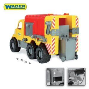 Боклукчийски камион 48 см. - Детски играчки - Детски камиончета и коли