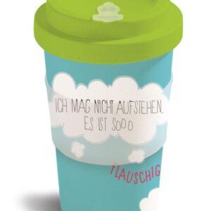 Чаша с капак Еднорогът Theodor-синя/зелена - Детски играчки - Плюшени играчки