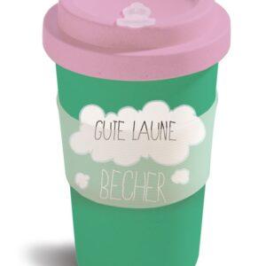 Чаша с капак Еднорогът Theodor, зелена - Детски играчки - Плюшени играчки