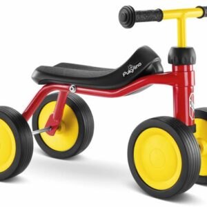 Четириколка за деца PUKY PUKYLINO P1 - червена - Играчки за навън - Детски триколки и четириколки