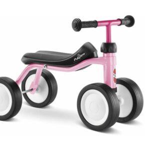 Четириколка за деца PUKY PUKYLINO P1 - розова - Играчки за навън - Детски триколки и четириколки