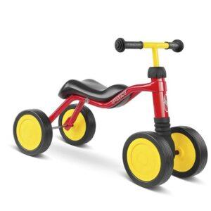 Четириколка за деца PUKY WUTSCH - червена - Играчки за навън - Детски триколки и четириколки