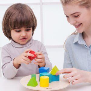 Дървен конструктор - Фигурки за баланс - Детски играчки - Образователни играчки - Дървени играчки