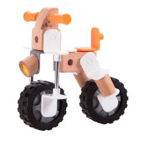 Дървен конструктор мотор - Детски играчки - Конструктори - Дървени играчки