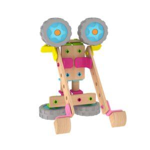 Дървен Конструктор за сглобяване - Детски играчки - Конструктори - Дървени играчки