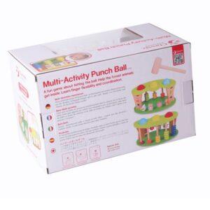 Дървена детска играчка за координация и точност - Детски играчки - Образователни играчки - Дървени играчки
