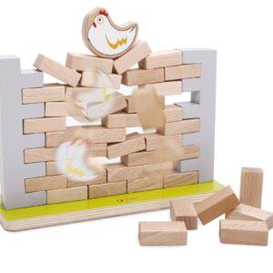 Дървена играчка - Стена за нареждане - Детски играчки - Образователни играчки - Дървени играчки