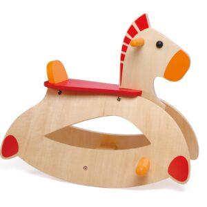 Дървена люлка - конче - Детски играчки - Други занимателни и спортни играчки - Дървени играчки
