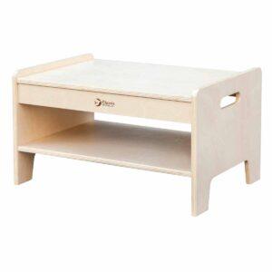 Дървена помощна масичка за детски градини и центрове - Мебели и играчки за детски градини и центрове - Мебели за детски градини и центрове