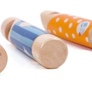Дървена свирка за деца - Детски играчки - Музикални инструменти - Дървени играчки