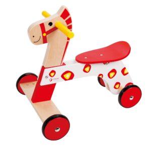 Дървено конче за яздене - Детски играчки - Други занимателни и спортни играчки - Дървени играчки