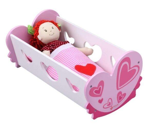 Дървено легло за кукли - Детски играчки - Бебешки играчки